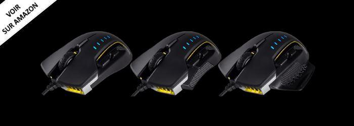 Corsair Glaive meilleure souris ergonomique