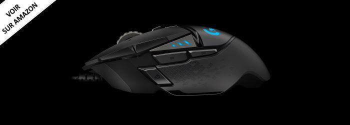 Logitech G502 Meilleure souris pour les jeux FPS