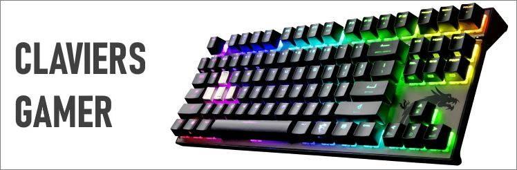 meilleurs claviers gamer