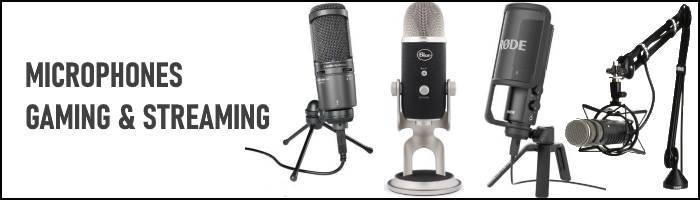meilleurs microphones gaming et streaming
