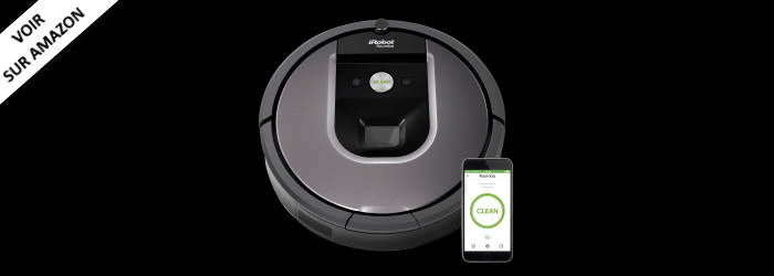 iRobot Roomba 960 - Le meilleur pour les propriétaires d'animaux