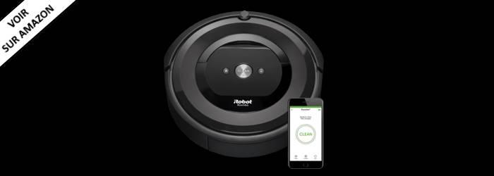 iRobot Roomba E5 - Le meilleur Robot Aspirateur