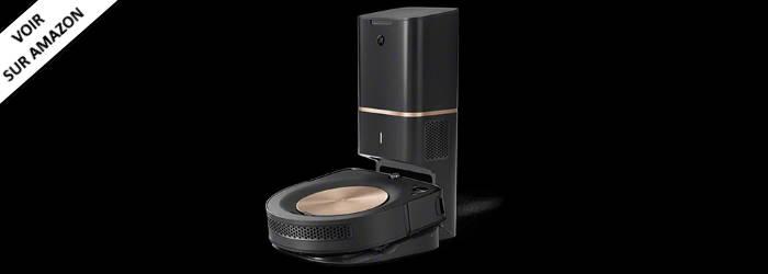 iRobot Roomba S9+ - Idéal pour sa fonction d'auto-vidage
